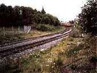 Looking south to Knightswood South Junction, class 303 in distance on electric lines.<br><br>[Ewan Crawford&nbsp;//]