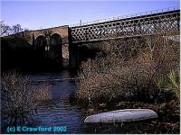 Looking west at the Oykel viaduct.<br><br>[Ewan Crawford&nbsp;//]