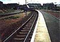 Looking south at Rutherglen station.<br><br>[Ewan Crawford&nbsp;//]