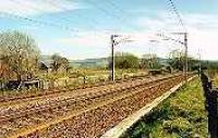 Looking south at the former Symington Junction station.<br><br>[Ewan Crawford&nbsp;//]
