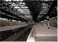 View of the bay platforms at Dundee station.<br><br>[Ewan Crawford&nbsp;//]