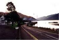 Arrochar Hotel and Pier, looking south.<br><br>[Ewan Crawford&nbsp;//]