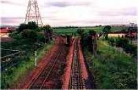 Looking south at Niddrie North Junction.<br><br>[Ewan Crawford&nbsp;//]