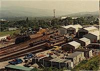 Tom-na-Faire locomotive depot in Fort William.<br><br>[Ewan Crawford&nbsp;//]