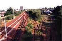 Looking south at the Earnock Sidings, Hamilton.<br><br>[Ewan Crawford&nbsp;//]
