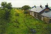 Looking west at the former Ochiltree station.<br><br>[Ewan Crawford&nbsp;//]