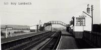 Glenbarry station when intact, view looking north.<br><br>[Roy Lambeth&nbsp;//]