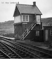 Signalbox at Stainmore Summit.<br><br>[Roy Lambeth&nbsp;20/1/1962]