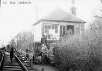 Signalbox at Ravenstonedale.