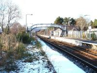 Carrbridge Station looking north.<BR/><br><br>[John Gray //]