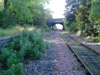 The former Meadowbank station, looking west.<br><br>[Steven McConnell&nbsp;//]