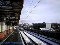 Looking east at Dumbarton Central.<br><br>[Garth Ponsonby&nbsp;//]