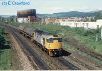 Class 26 heading south past Stirling South.<br><br>[Ewan Crawford&nbsp;//]