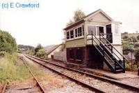 Looking south at Lime Kiln signalbox. The former loop track is on the left.<br><br>[Ewan Crawford&nbsp;//]