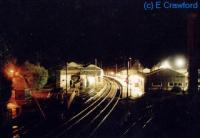 Oxenholme station at night.<br><br>[Ewan Crawford&nbsp;//]