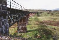 View north of the viaduct north of Rannoch station.<br><br>[John Gray&nbsp;//]