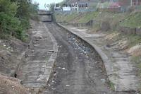 View looking north over Larkhall Central after vegetation removal.<br><br>[Ewan Crawford&nbsp;02/05/2004]