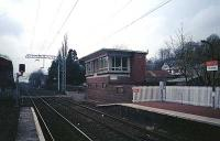 Signalbox (now demolished) at Bowling viewed from east.<br><br>[Ewan Crawford //]