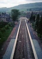 Old Kilpatrick station seen from the Erskine Bridge. View looks west.<br><br>[Ewan Crawford&nbsp;//]