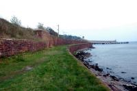 Wemyss Bay goods looking to the pier and zig-zag line up to the station.<br><br>[Ewan Crawford&nbsp;08/05/2006]