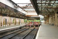 Bay platforms 5&6 at Perth, looking north during a quiet period in July 2006.<br><br>[John Furnevel&nbsp;15/07/2006]