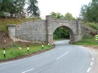 Near Grantown,the bridge beside Castle Grant Halt on the line between Aviemore and Forres. July 2006<br><br>[John Gray&nbsp;/07/2006]