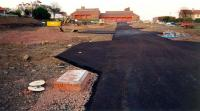 Looking east at the former Gullane terminus. The goods station was to the left and passenger station to the right. [? 1997]<br><br>[Ewan Crawford&nbsp;/03/1997]