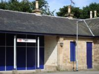 Tain station building following recent rennovation work.<br><br>[John Morton&nbsp;/07/2006]