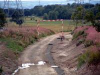 Drainage works near complete at Kilbagie.<br><br>[Ewan Crawford&nbsp;13/08/2006]