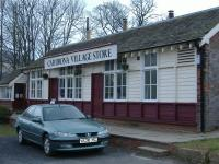 This as the picture shows the station has been turned into a village store.<br><br>[Colin Harkins /03/2006]