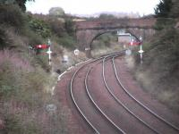 Stanley Jn. The signal cabin can be seen under bridge. <br><br>[Brian Forbes&nbsp;28/08/2006]