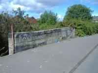 Little remains of this overbridge between Parkhead South and Tollcross.<br><br>[Colin Harkins&nbsp;29/08/2006]