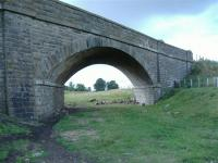Bridge 200 on the old Scottish Midland Junction Railway from Kirriemuir to Forfar. This line now part of farmland<br><br>[Colin Harkins&nbsp;31/08/2006]