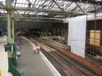 <I>'...some kind of festival apparently.'</I> Sunday morning work resumes at Waverley on 3 September 2006, following the enforced lay-off. <br><br>[John Furnevel&nbsp;03/09/2006]