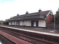 Ladybank. Well kept up platform building.<br><br>[Brian Forbes&nbsp;28/08/2006]