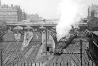 For a change the old Waverley with 80114 as station pilot in 1963.<br><br>[John Robin&nbsp;31/05/1963]