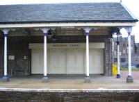 Detail from the up platform at Broughty Ferry station in August 2006.<br><br>[John Furnevel&nbsp;13/08/2006]