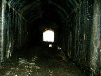 Disused Tunnel under Innerleithen Rd. This tunnel comes complete with Telecommmunication equipment and several Tree stumps in the middle!!<br><br>[Colin Harkins&nbsp;/03/2006]