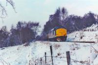 Pair of 37s with afternoon freight from Fort William between Shandon and Rhu.<br><br>[John Robin&nbsp;//]