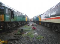 Part of the wet yard at SRPS Boness on 6 September 2006.<br><br>[John Furnevel&nbsp;06/09/2006]