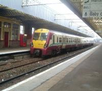334036 departing Paisley Gilmour Street for Glasgow<br><br>[Graham Morgan&nbsp;12/09/2006]