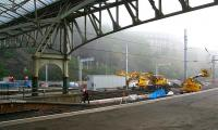 Progress at Waverley on 17 September 2006. Work is now underway at the east end, including reinstatement of the old platform 5.<br><br>[John Furnevel&nbsp;17/09/2006]