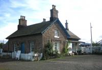 The listed station building at Errol, operating as a craft shop and tea room in September 2006.<br><br>[John Furnevel&nbsp;04/09/2006]