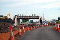 The new bridge to carry the replacement road to Hilton Road is nearing completion.<br><br>[Ewan Crawford&nbsp;21/09/2006]