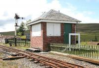 Leadhills signal box in August 2006. [See image 6453]<br><br>[John Furnevel&nbsp;04/08/2006]