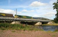 Northbound freight crossing the Clyde at Lamington - Sept 2006.<br><br>[John Furnevel&nbsp;/9/2006]