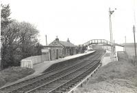 General view of Brucklay station in May 1959.<br><br>[G H Robin collection by courtesy of the Mitchell Library, Glasgow&nbsp;15/05/1959]