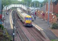 334014 at Johnstone on a service to Glasgow Central<br><br>[Graham Morgan&nbsp;03/10/2006]