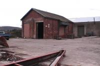 Two line goods shed at Bridge Of Earn. This was demolished to make way for housing in 2008.<br><br>[Brian Forbes&nbsp;03/10/2006]