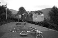 Glasgow bound train enters Arrochar and Tarbet in 1973 behind 5362.<br><br>[John McIntyre&nbsp;//1973]